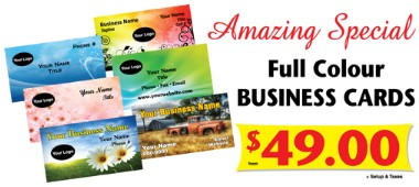 Full Color Business Card Special