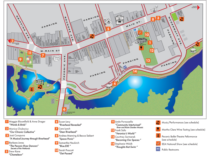 click here to download the map of events >>
