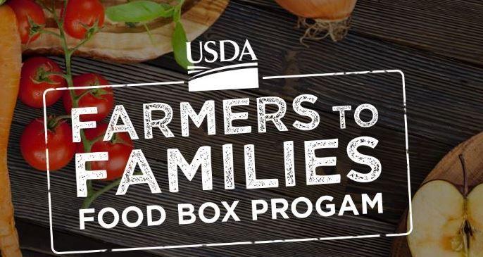 Farm to Families Food Boxes