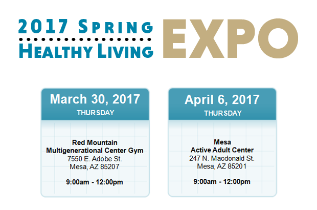 2017 Spring Healthy Living Expos