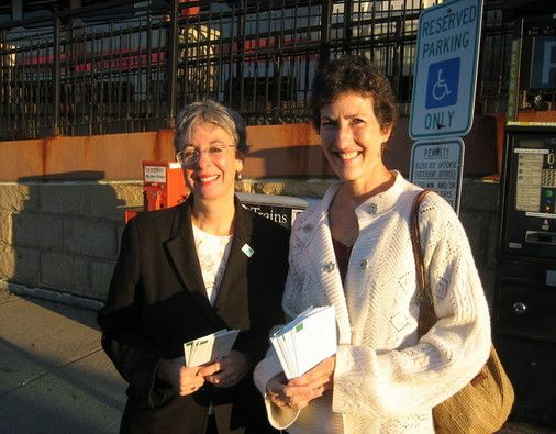 Bonnie Cohen (WAY), Elizabeth Zamorski (YFS)