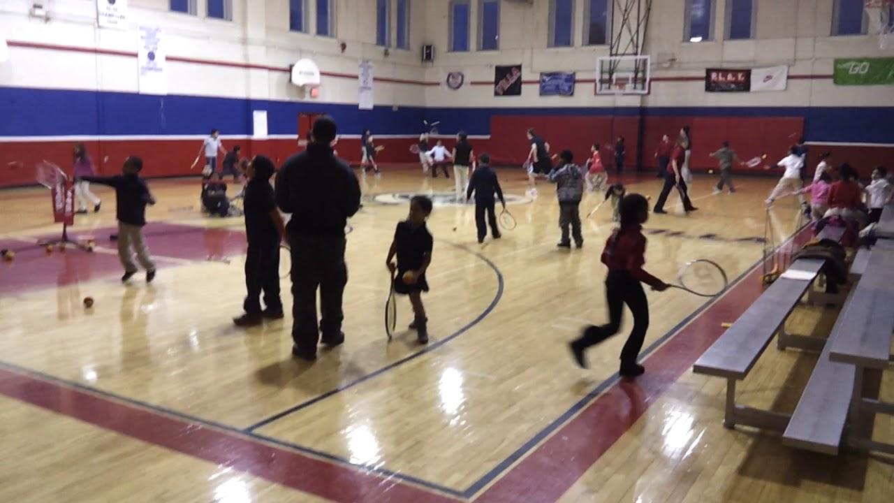 Olivet Boys & Girls Foam Ball free time tennis clinic