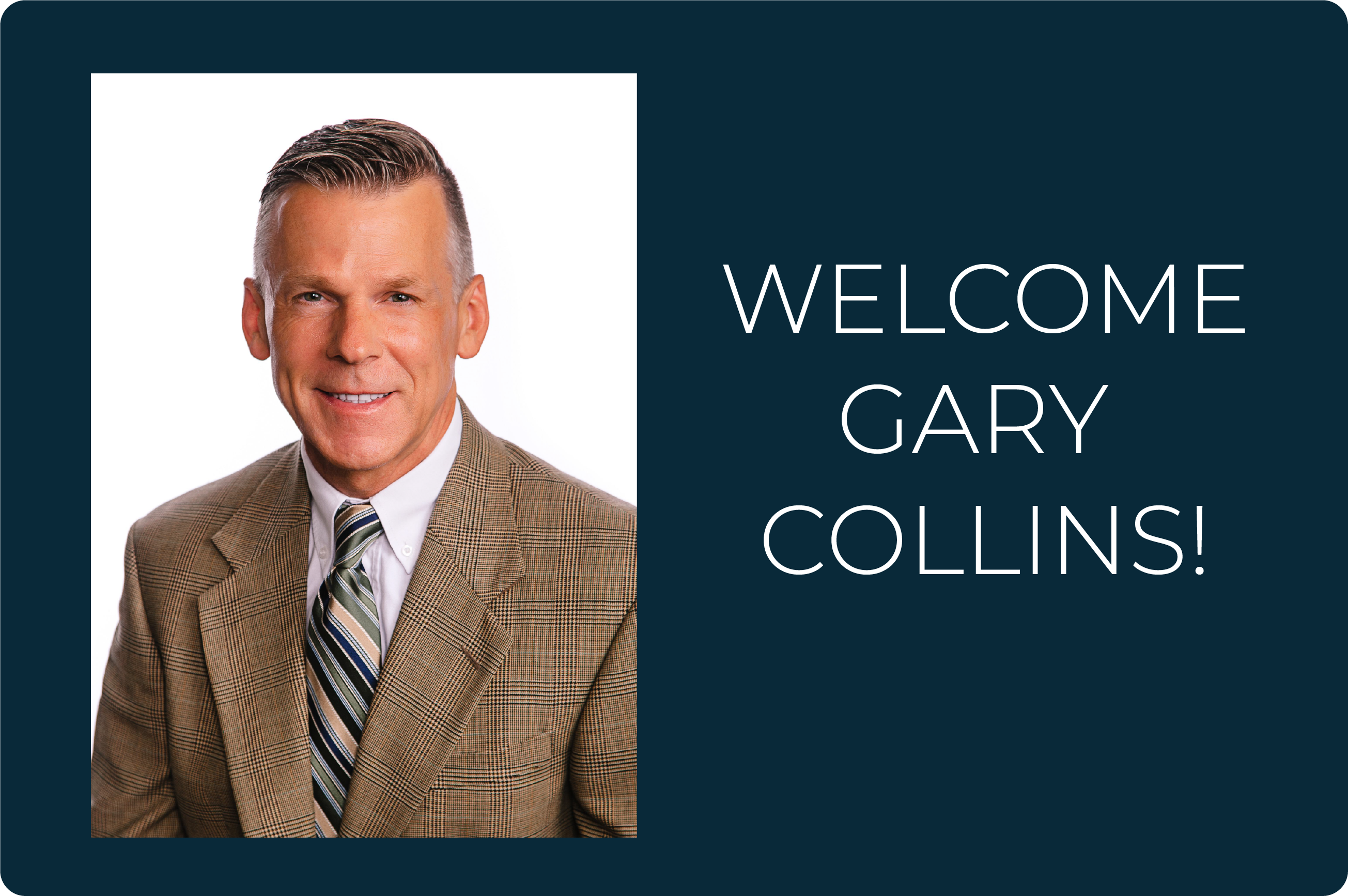 Please join us in welcoming our new CEO!