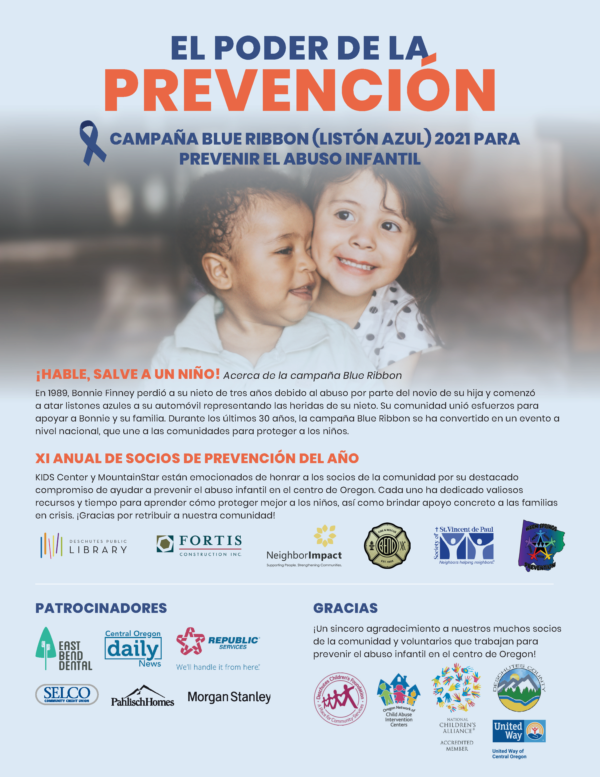 Spanish Child Abuse Prevention Month Newsletter