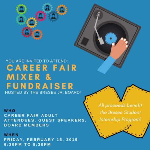 Career Fair Mixer & Fundraiser