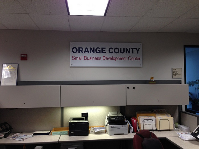 Department wall signs Orange County
