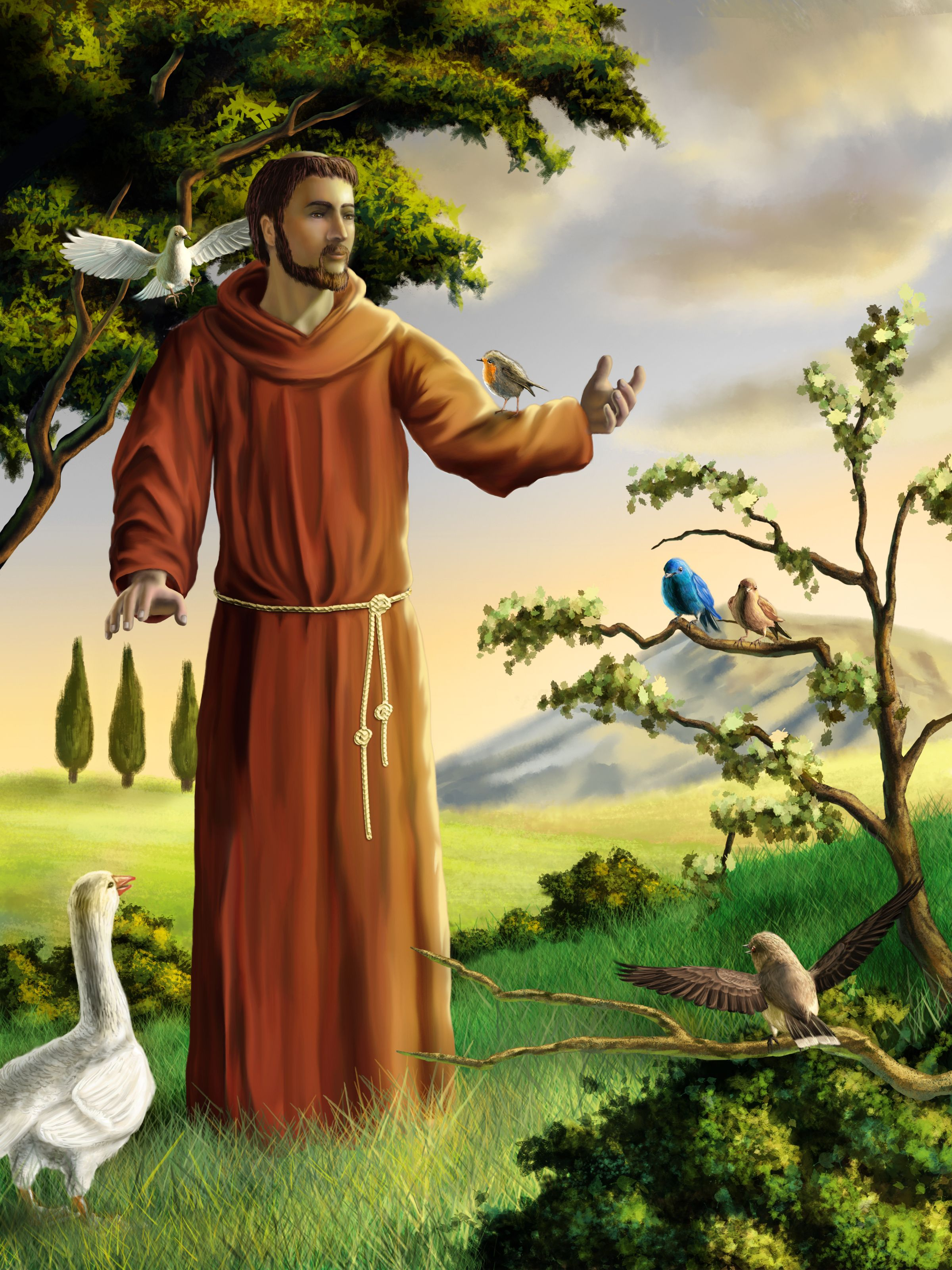 Reflecting on the Feast of St. Francis Assisi