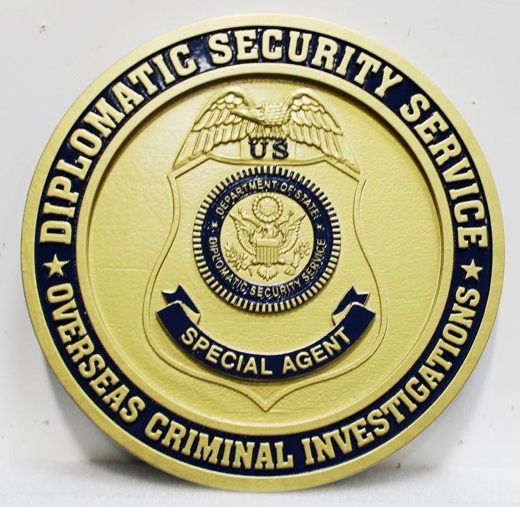 CD9175 - Badge of a Special Agent of the US Diplomatic Security Service