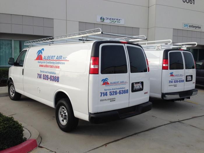 Fleet Van Graphics Orange County CA