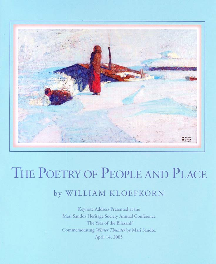 The Poetry of People and Place