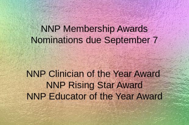 NNP Membership Awards