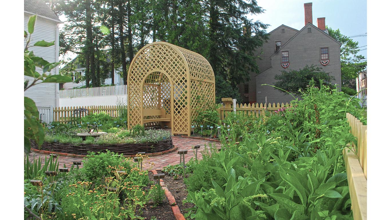 Strawbery Banke Herb Garden 2