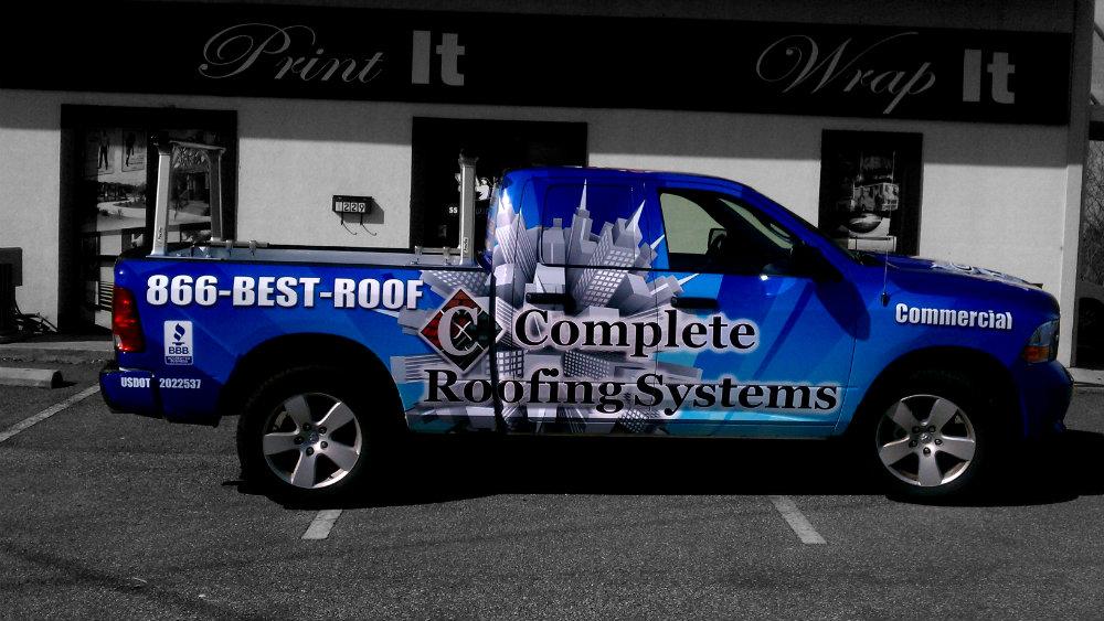 Complete Roofing Passenger Side