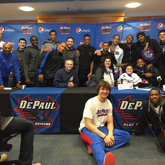 DePaul Basketball Signs 11-Year-Old to Letter of Intent