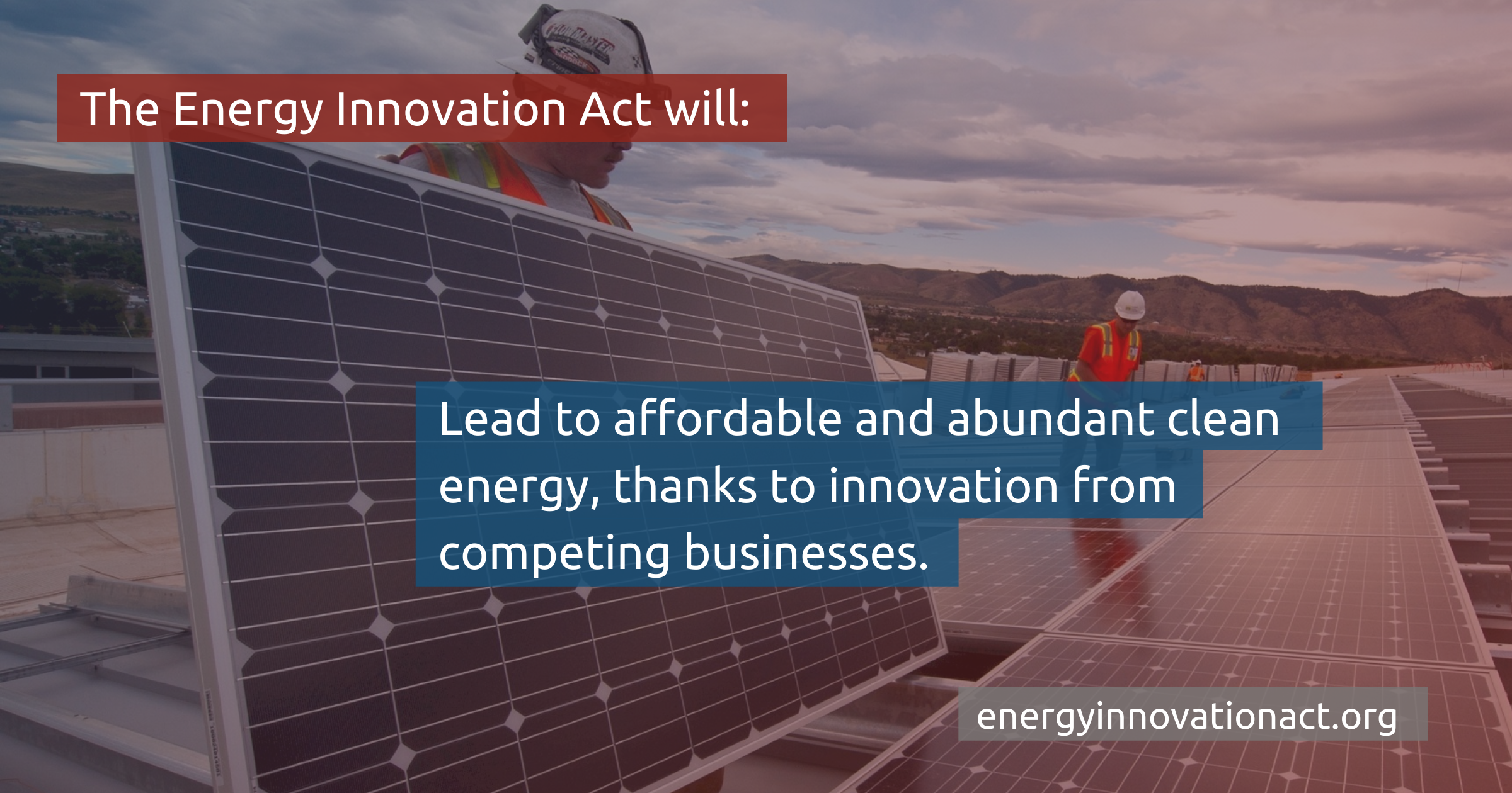 The Energy Innovation and Carbon Dividend Act is a Win-Win for American Families