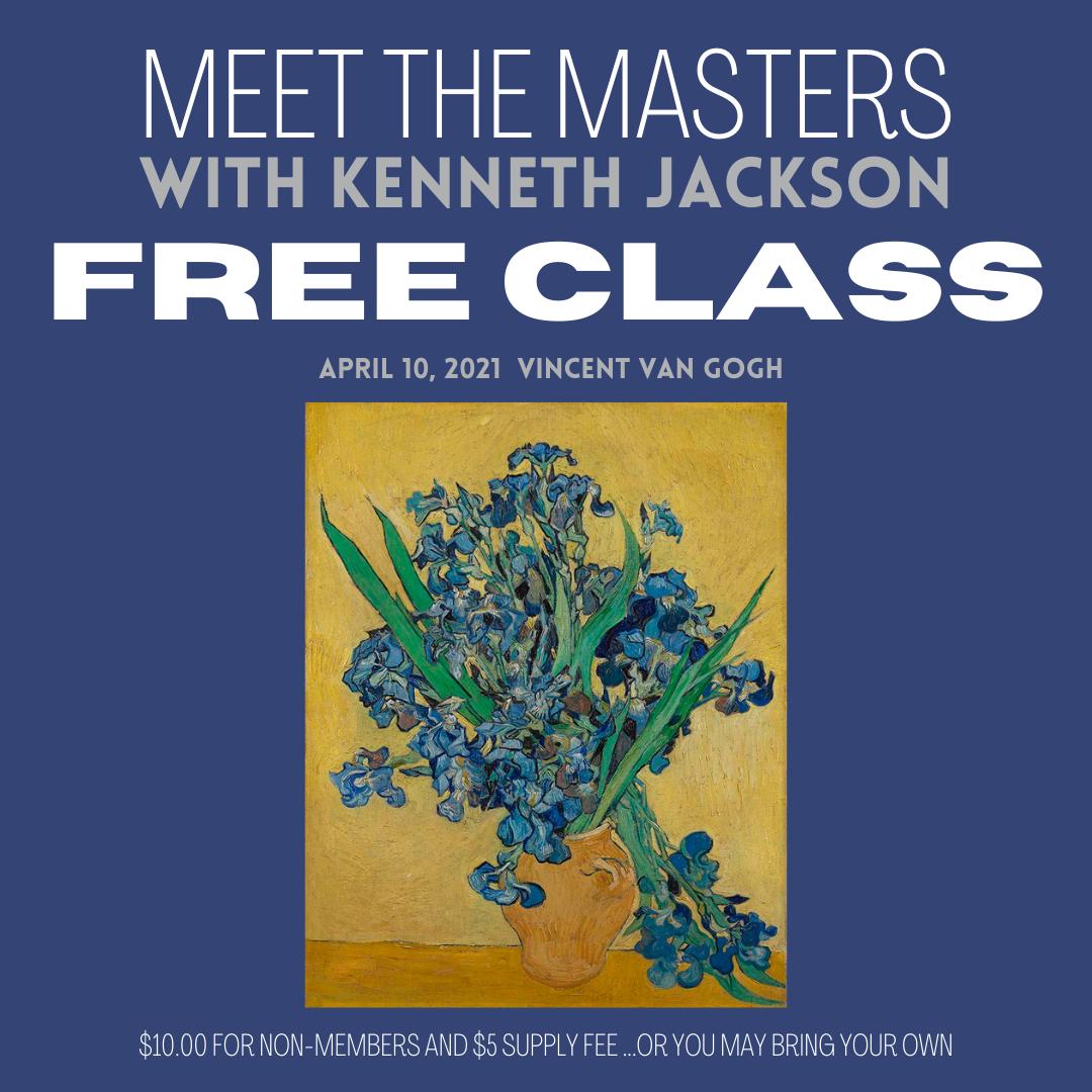 Meet the Masters FREE Art Class
