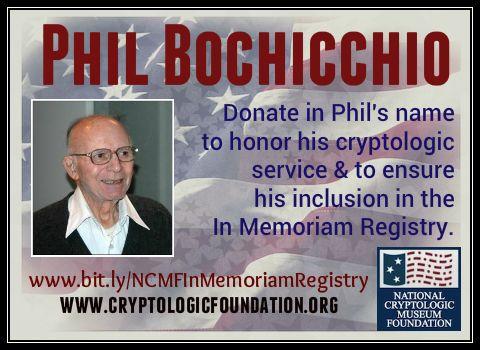 In Memoriam Phil Bochicchio