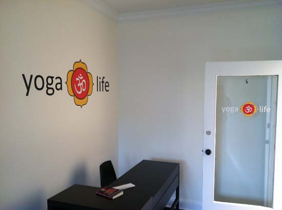 Yoga Life Wall Decal