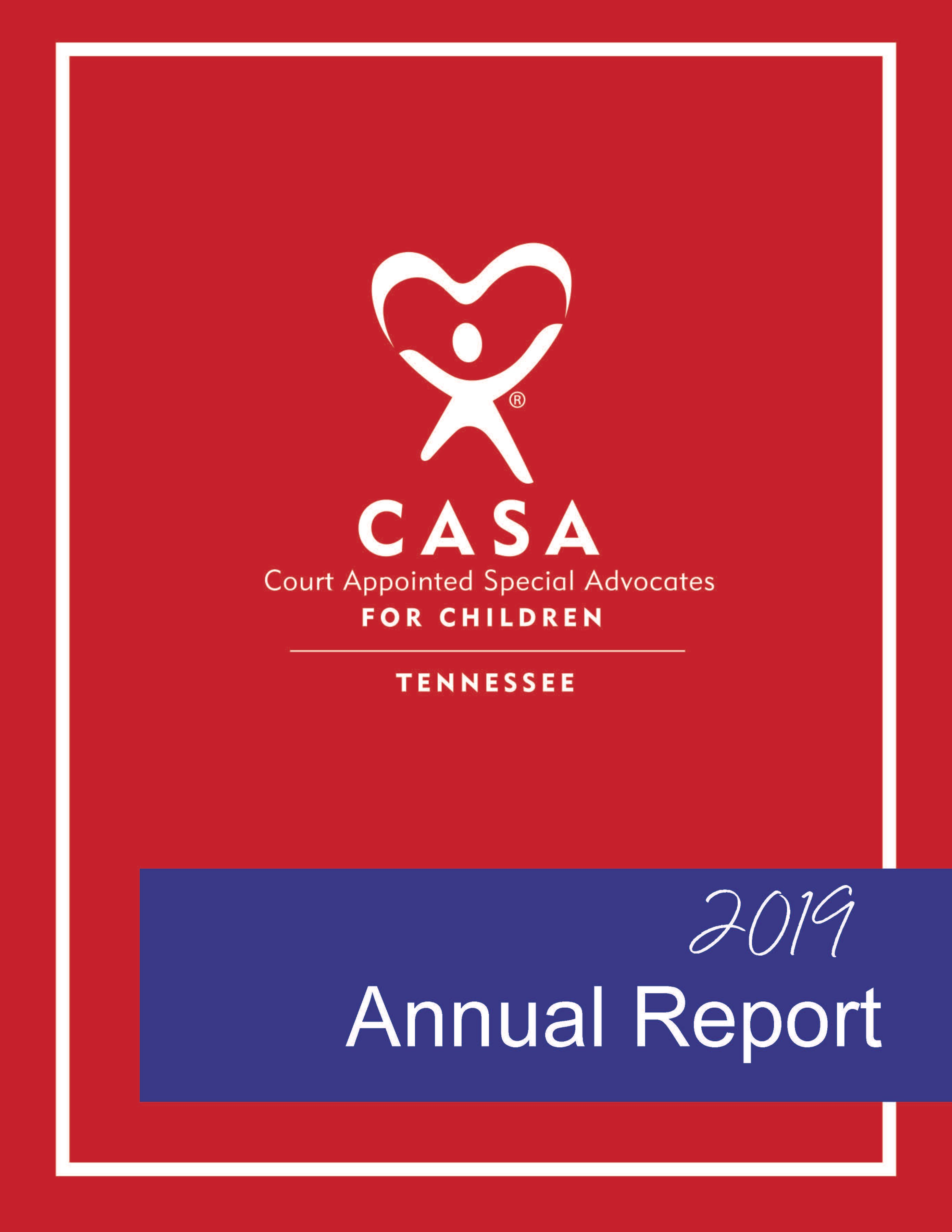 2019 Tennessee CASA Annual Report
