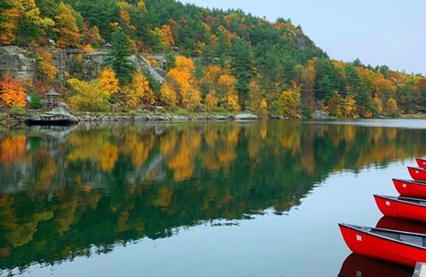 Mohonk Lake is getting warmer and more stagnant with climate change