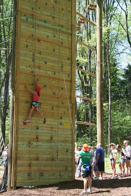 Climbing Wall III