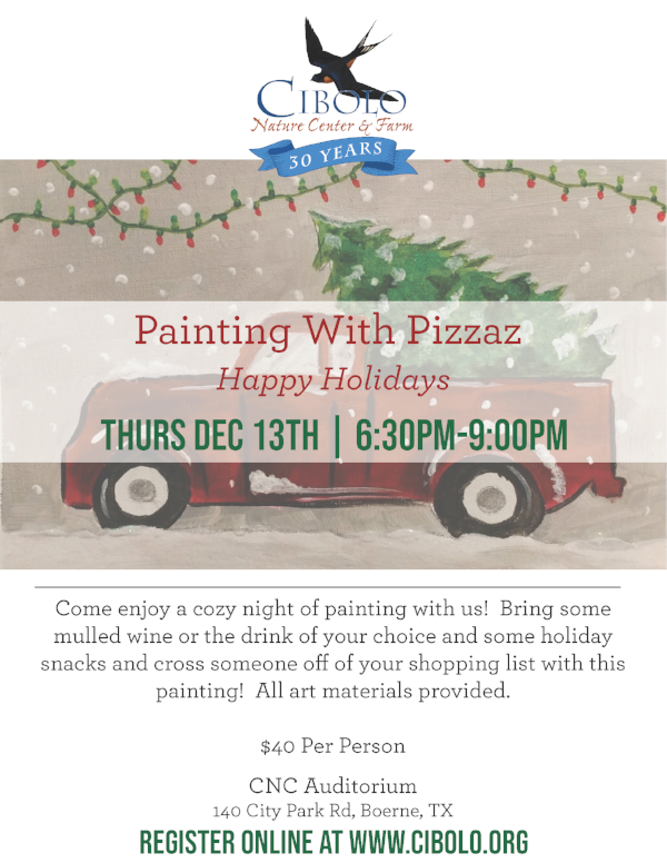 "CNC:  Painting with Pizazz ""Happy Holidays"""