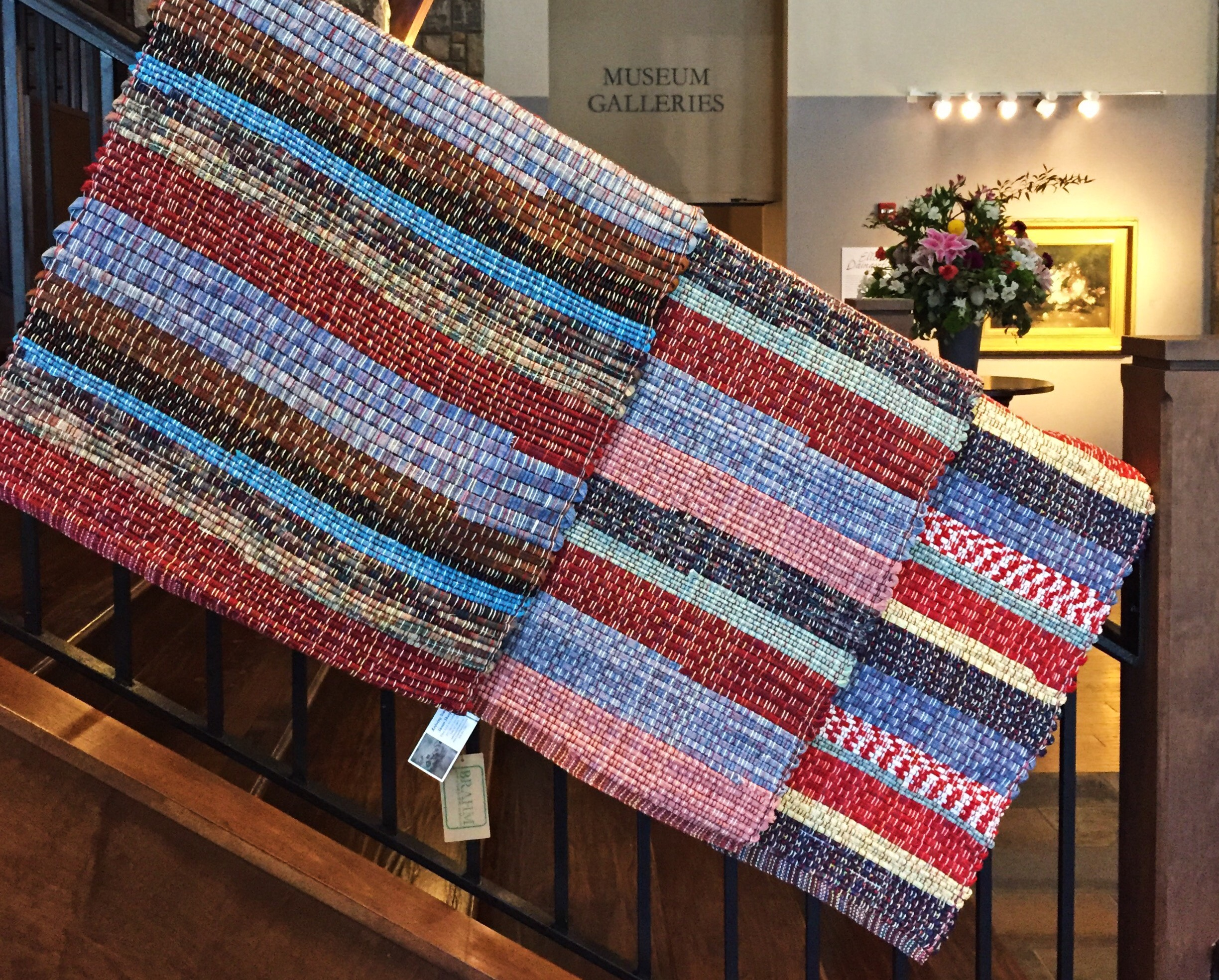Handwoven Rugs by Susan Sharpe