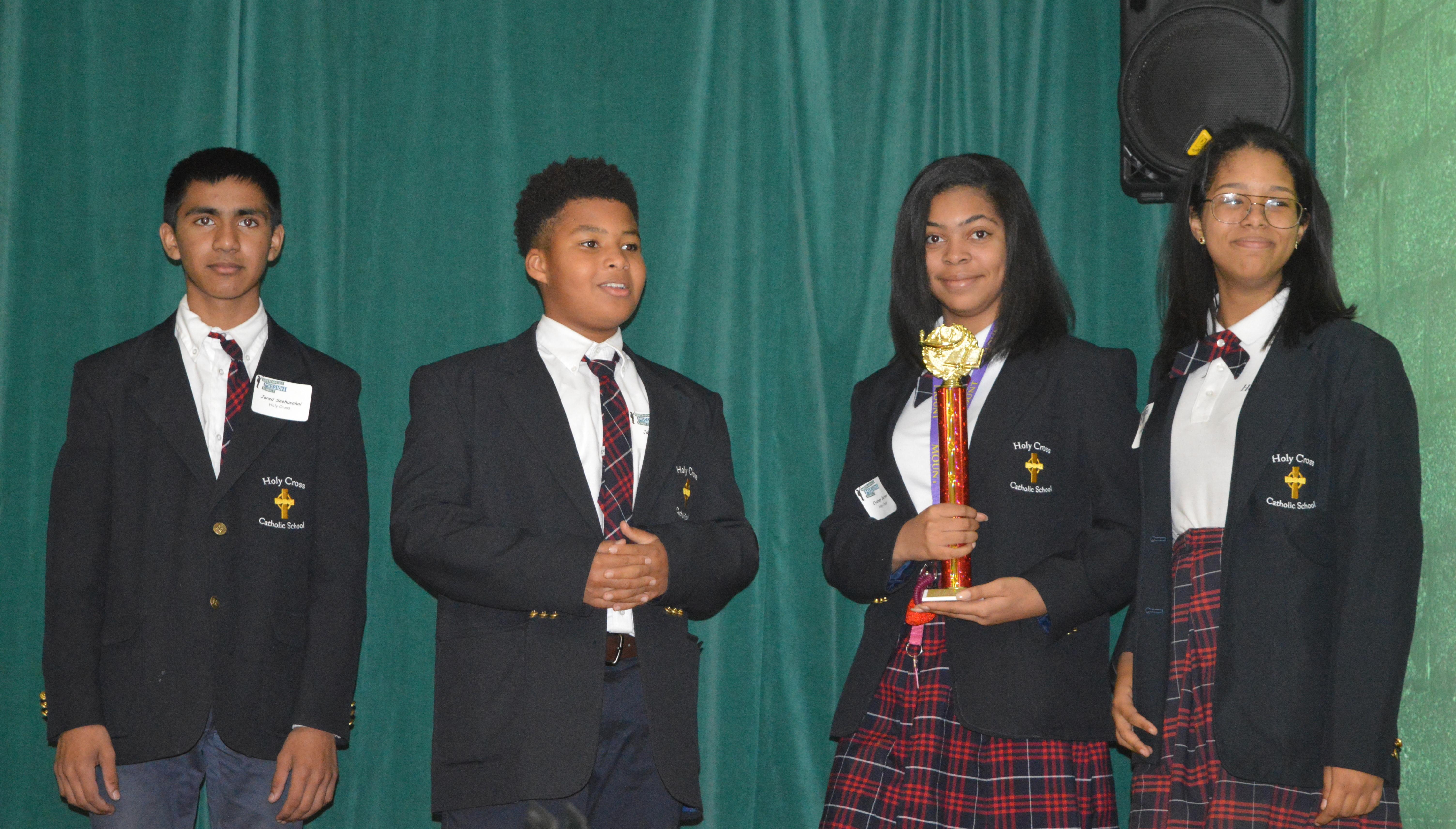 8th Grade Wins Math Competition