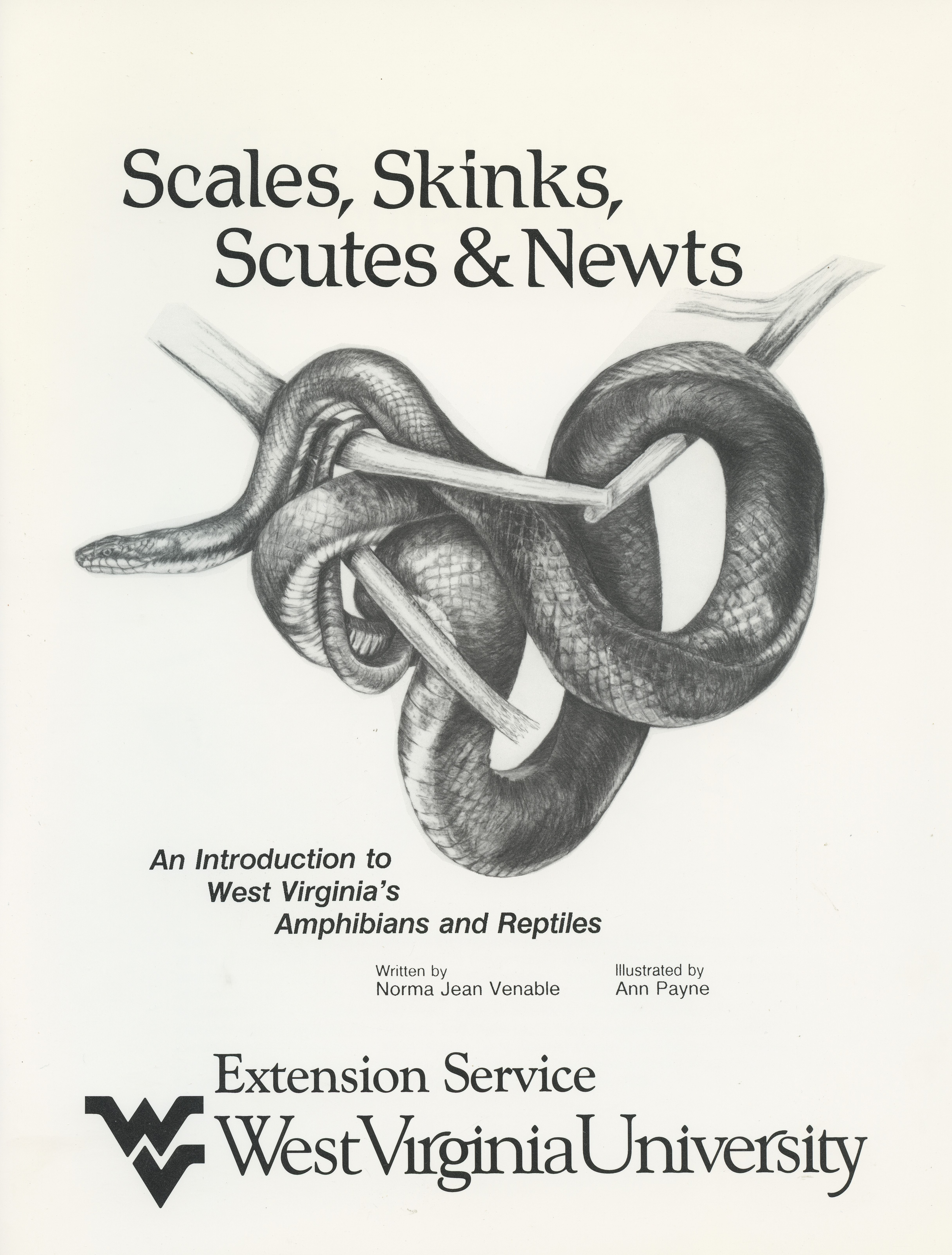 Scales, Skinks, Scutes & Newts -- An Introduction to West Virginia's Amphibians and Reptiles