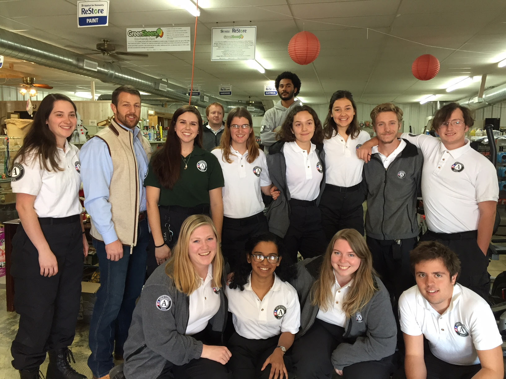 "AmeriCorps ""Water 9 Team"" and Congressman Markwayne Mullin"