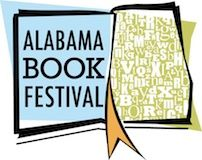 Bob McClain, Executive Director of Old Alabama Town and Ashley Gordon,  Alabama Book Festival.
