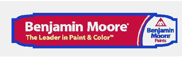 SA28693 - Carved HDU Sign for Benjamin Moore Paint Store,  with Logo