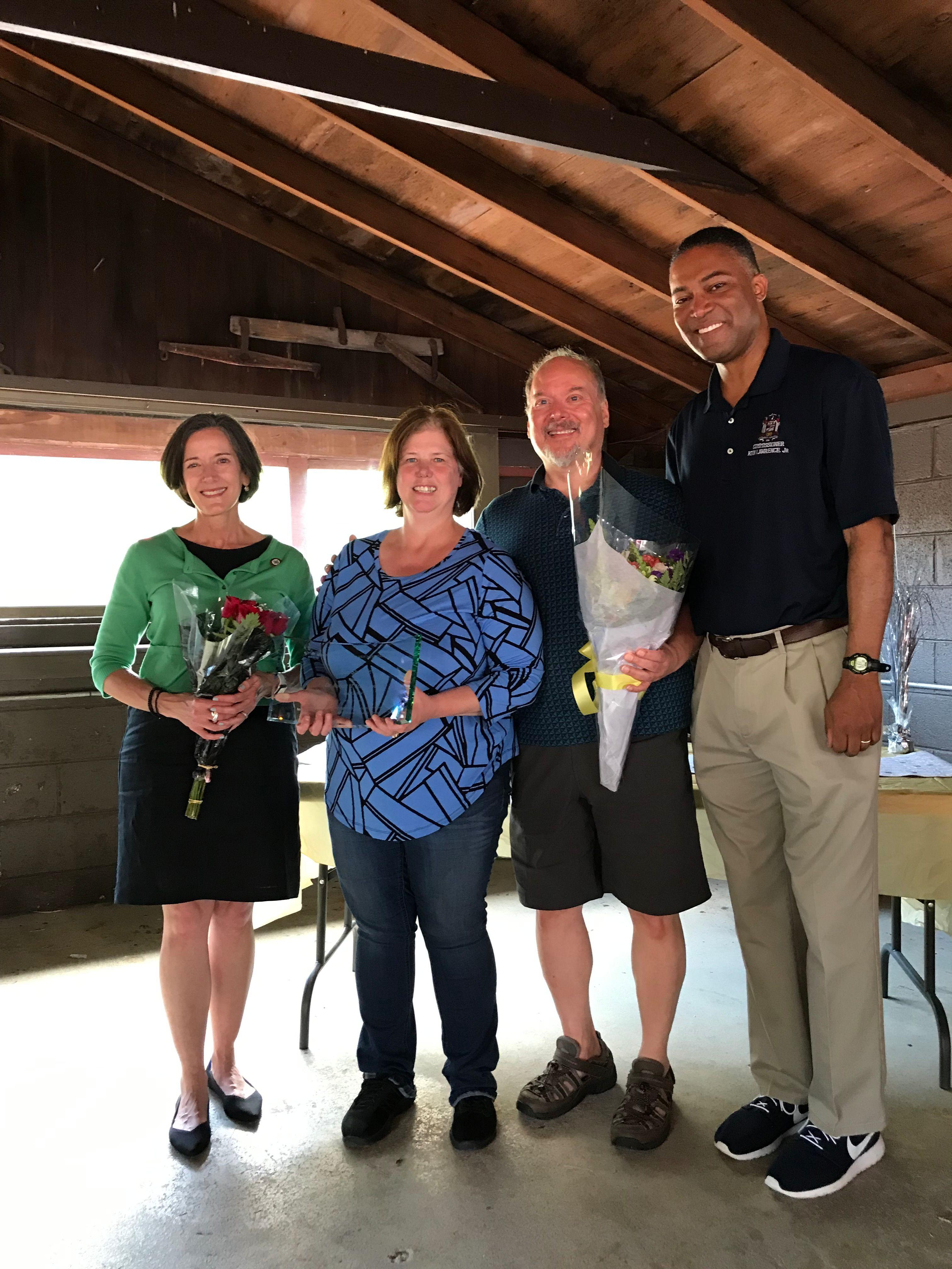 Sue Shannon wins prestigious Dr. Miller Award