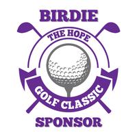 Birdie Sponsor - $1,500