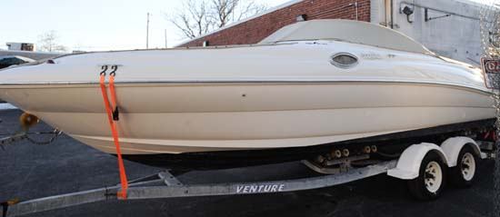 Boat Wrap Before