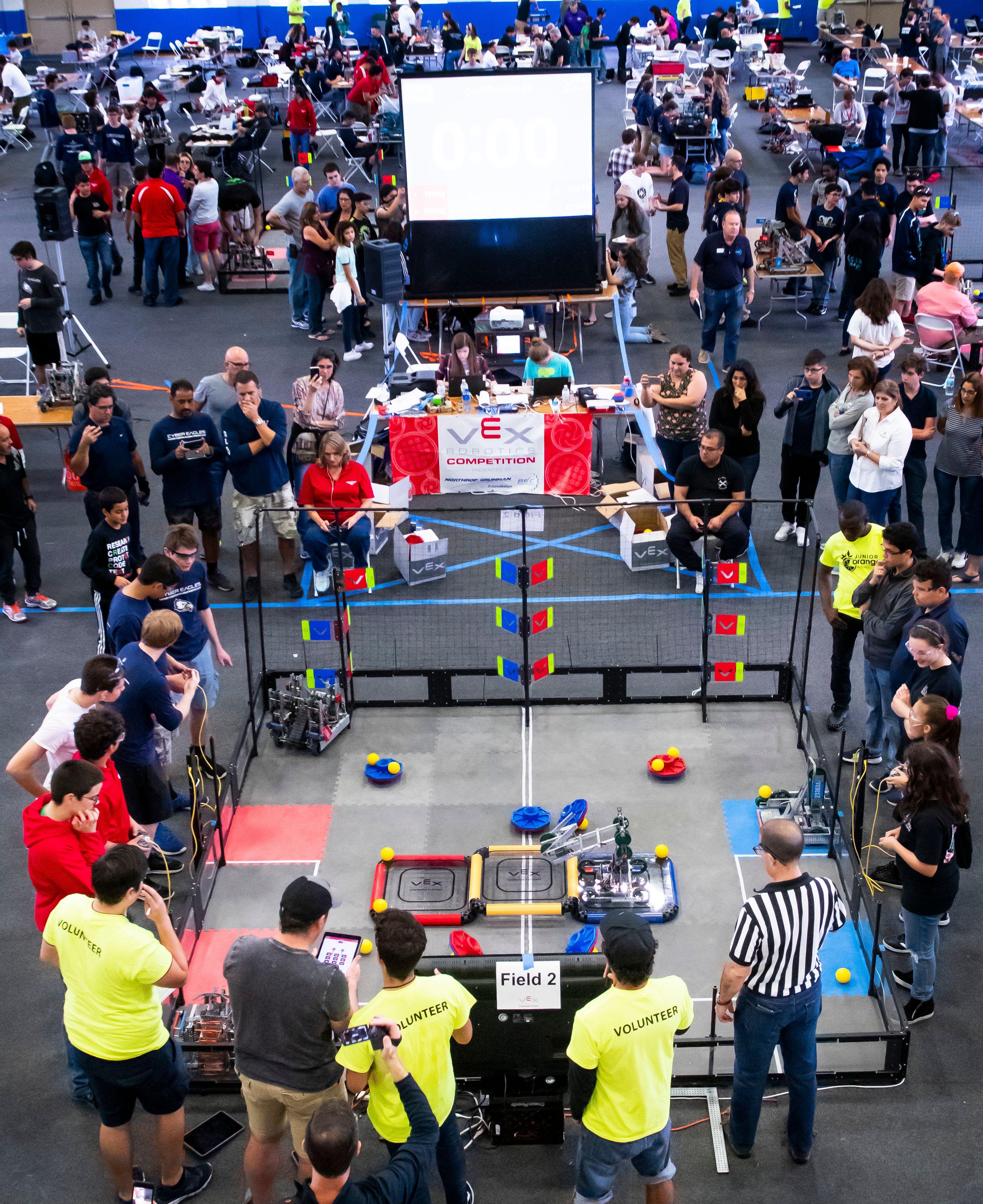 3rd Annual Junior Orange Bowl Robotics Competition