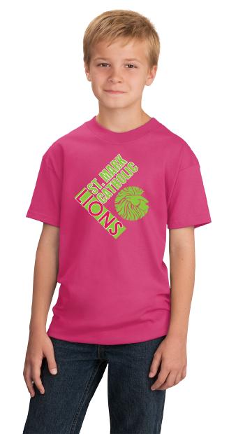 Lions T-shirt - Pink