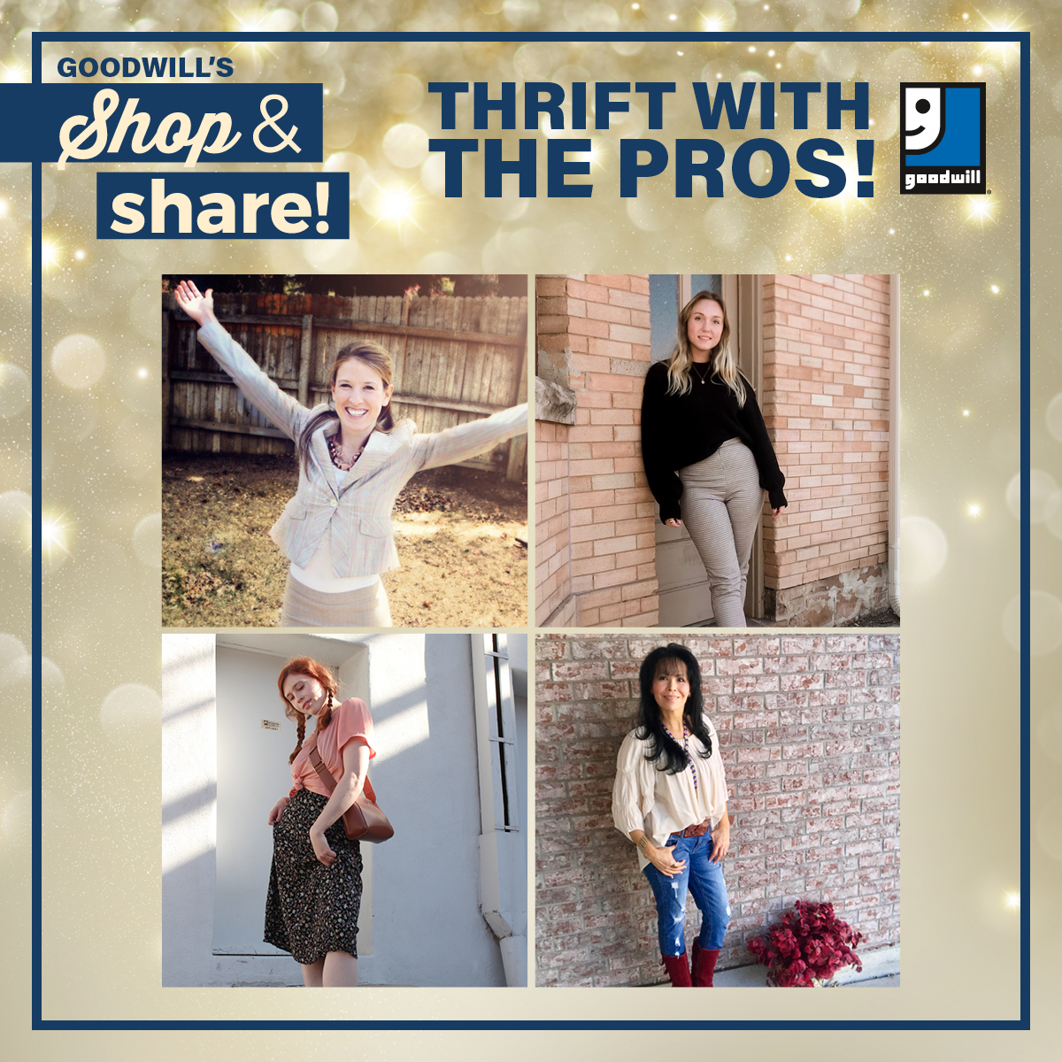 Shop & Share in Colorado Springs! Thrift with the PROS!