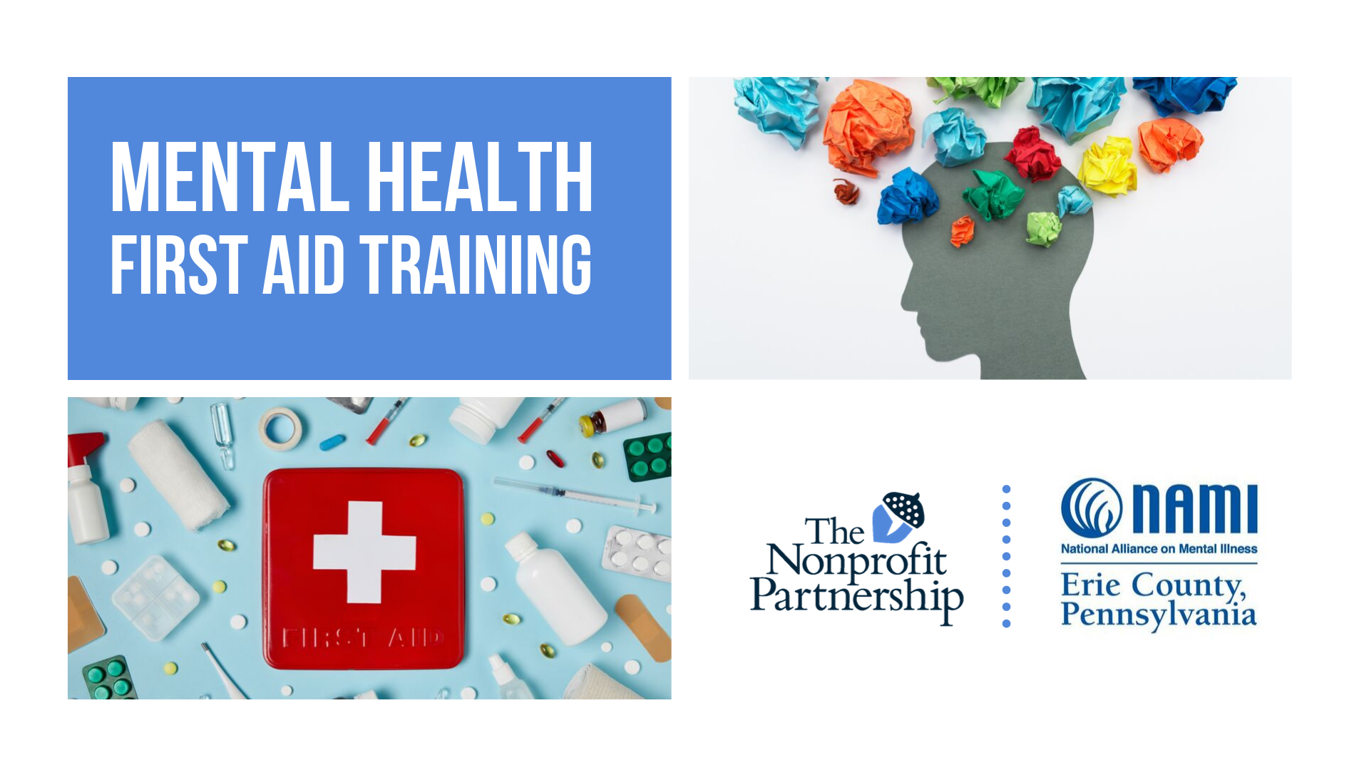 [Zoom Training] Mental Health First Aid with NAMI of Erie County
