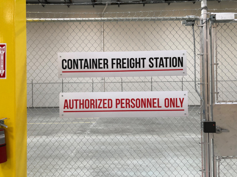 Warehouse Signs in Los Angeles CA
