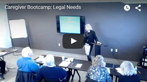 Bootcamp: Legal Needs - Video