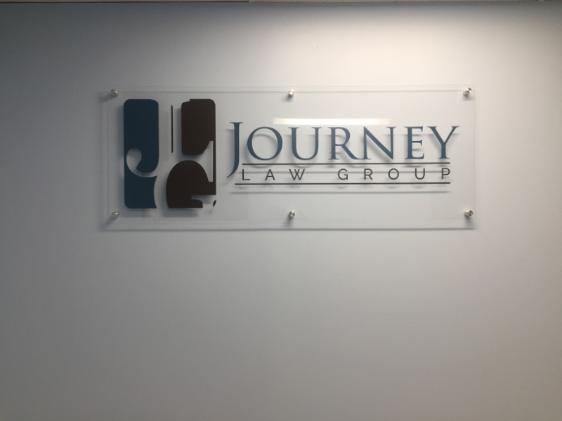 Custom Lobby Logo Signs for Businesses in Los Angeles