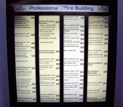 Lighted Directory