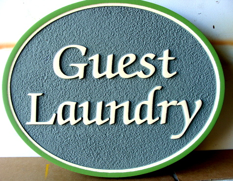 KA20623 - Custom Guest Laundry Room Sign
