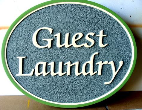 KA20623 - Custom Guest Laundry Room Sign