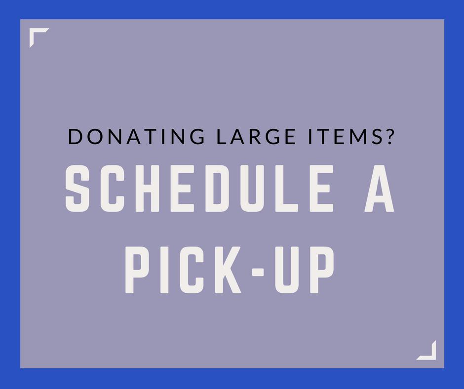 Schedule a Pick-up
