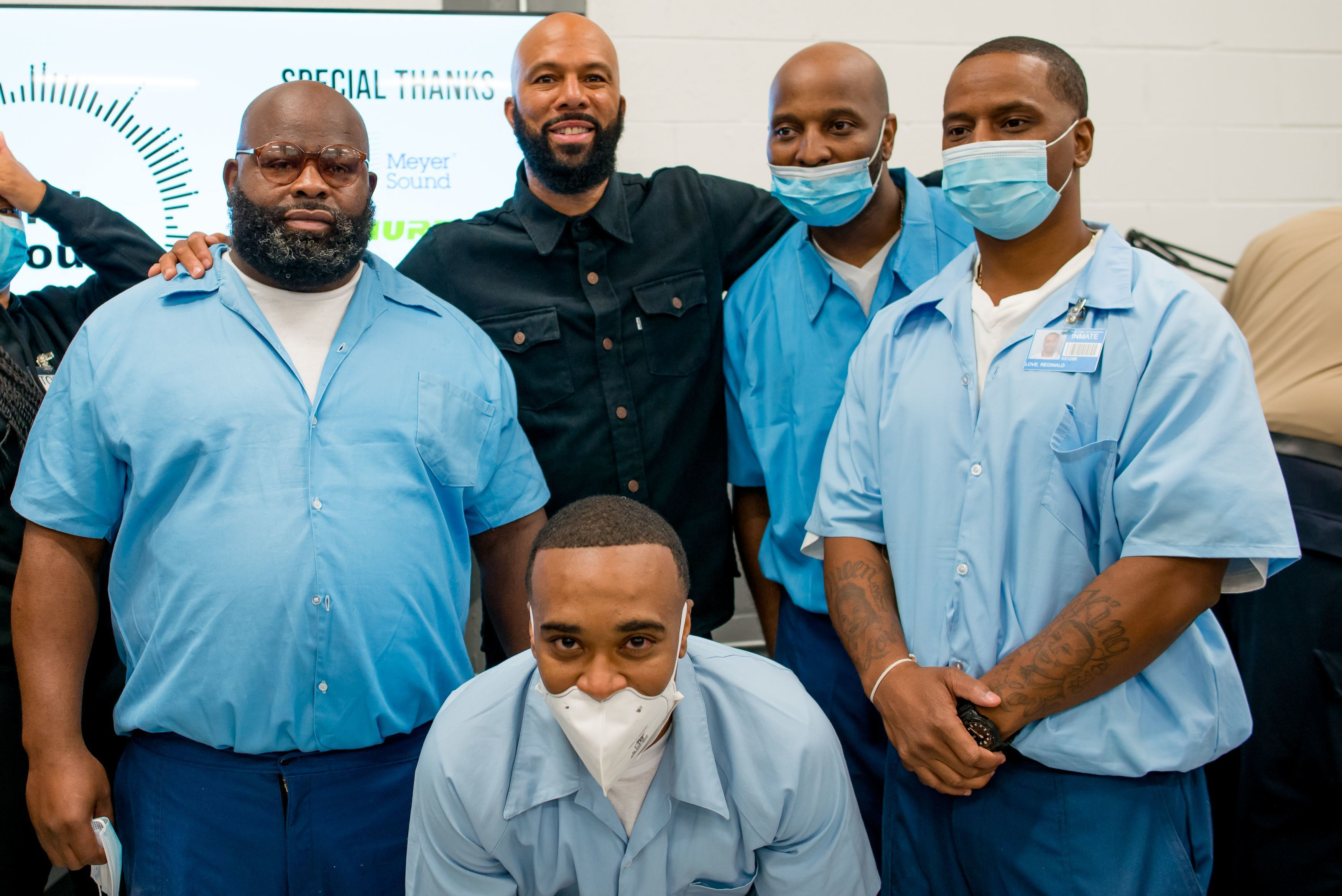 Common unveils new music program at Stateville, but participants are unsure if they'll receive time off their prison sentences