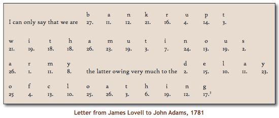 1737: Birthday of James Lovell