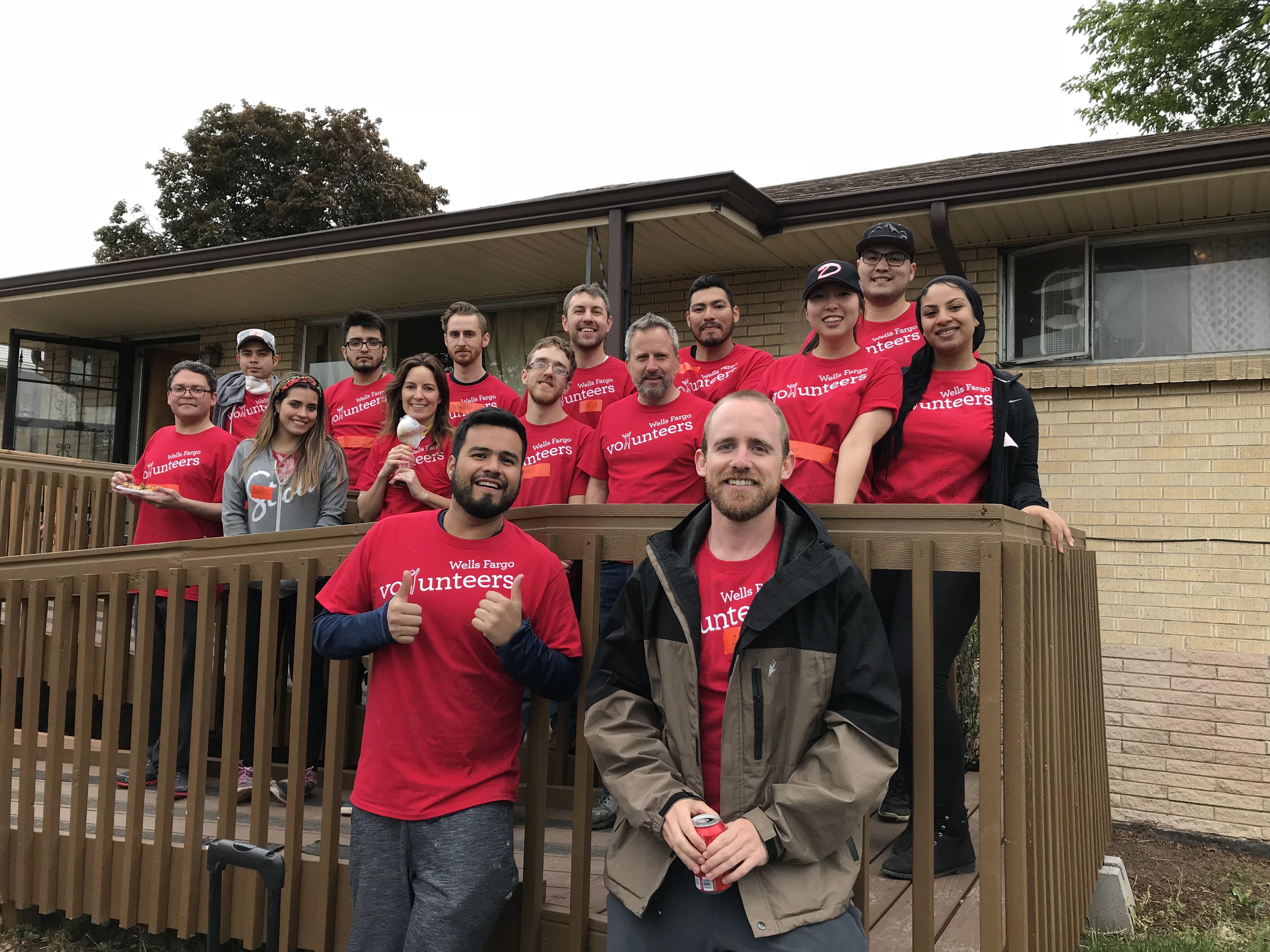 Wells Fargo repairs Vickie B.'s home