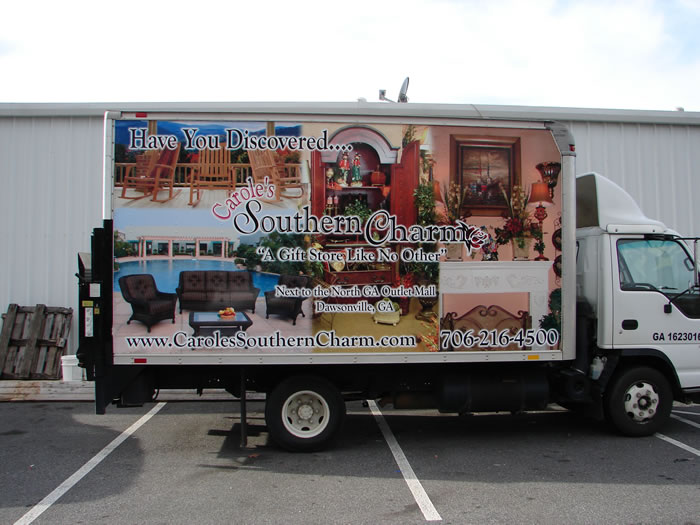 Carole's Truck Wrap